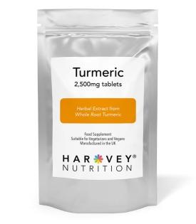 Turmeric 2,500mg - 120/240 Tablets