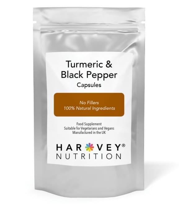 Turmeric & Black Pepper Capsules - 120/240/360