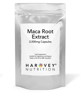 Maca Root 2,500mg – 120/180/360 Capsules